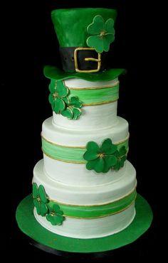 St. Patrick's Day Wedding Cake Inspiration... ~