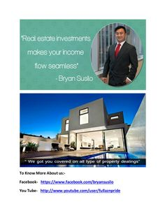 Bryan artawijaya susilo   real estate bussinessman in australia by bryanartawijaya007 via slideshare https://www.facebook.com/profile.php?id=100006206117981