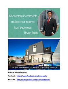 Bryan artawijaya susilo   real estate bussinessman in australia by bryanartawijaya007 via slideshare