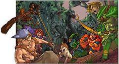 Resultado de imagem para desenhos da caverna do dragão