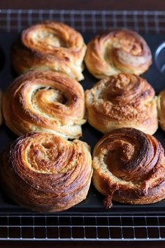In Cookie Haven: Hazelnut Sourdough Cruffins