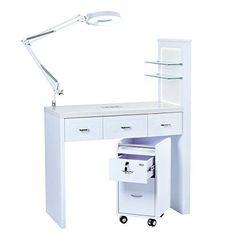 728 best manicure stations table desk images in 2019 manicure rh pinterest com