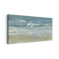 Dana McMillan 'Morning Break' Canvas Wall Art (24 x 48) - Free Shipping Today - Overstock.com - 17882609 - Mobile