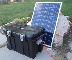 Something to think about.  Be Prepared Solar - Solar Power Generators