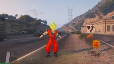 New 'GTA V' Mod Lets You Play As 'Dragon Ball Z' Characters