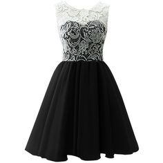 Dresstells Short Tulle Prom Dress Bridesmaid Homecoming Gown with Lace (€45) ❤ liked on Polyvore featuring dresses, vestidos, black, short dresses, lace dress, short bridesmaid dresses, lace homecoming dresses and cocktail prom dress