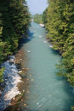 Nusatsum River, Hagensborg, Bella Coola Valley, Coast of Central British Columbia | by BCVacation