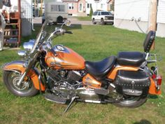 Moto Yamaha V Star 2009 Yamaha V Star, Motos Yamaha, Canada, Touring, Motorcycle, Stars, Automobile, Recipes, Motorcycles