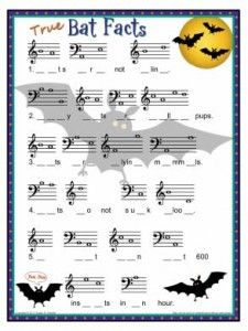 Holiday Activities and Worksheets – Susan Paradis' Piano Teacher Resources Piano Lessons, Music Lessons, Halloween Music, Halloween Poems, Halloween Week, Halloween Bats, Piano Classes, Middle School Music, Music Lesson Plans