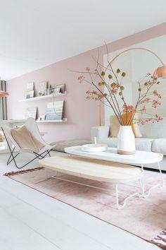 Softe Farben machen den Raum besonders erholsam :)