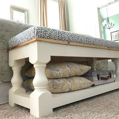 Get the plans for this DIY bench...