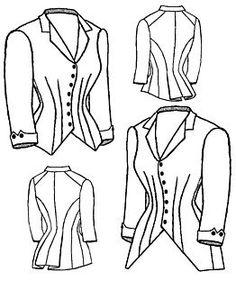 1880 Jacket Bodice Pattern Truly Victorian http://www.amazon.com/dp/B002A8EFTC/ref=cm_sw_r_pi_dp_hx0Evb0AN26VR
