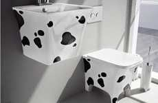 Makes you wanna say 'MOO' - Bovine Bathroom Fixtures (UPDATE)