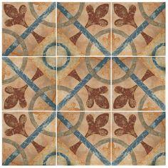 """EliteTile Lincoln 8.75"""" x 8.75"""" Porcelain Field Tile in Cleveland   AllModern"""