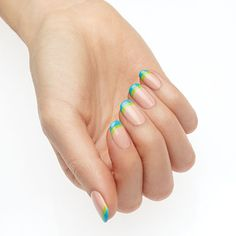 color fetish by essie - calling all coloraholics: keep your mani oh-so-fresh with twice the color on your french tips. you'll be seeing double!