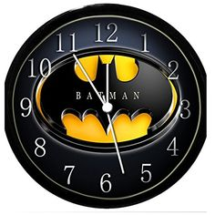 How To Design A Batman Themed Bedroom? Try adding this great Batman Bedroom clock for a really fun bedroom decor item. The kids will love it, and so will the grownups. Triathlon, Bedroom Themes, Bedroom Decor, Bedroom Ideas, Batman Bedroom, Farmhouse Style Bedrooms, Univers Dc, Sick, Modern Bedroom Design