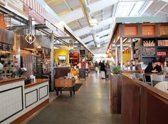 Oxbow Public Market in Napa: heaven for foodies.