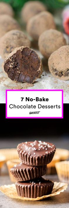 Consider your craving cured. #greatist https://greatist.com/eat/no-bake-chocolate-desserts