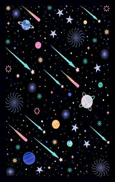 """Constellations Discover Galactic Poster by Carly Watts """"Galactic"""" Poster by CarlyWatts Cartoon Wallpaper, Cute Wallpaper Backgrounds, Pretty Wallpapers, Aesthetic Iphone Wallpaper, Screen Wallpaper, Cool Wallpaper, Pattern Wallpaper, Aesthetic Wallpapers, Pug Wallpaper"""