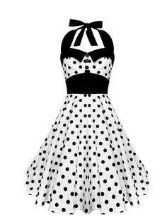 Lady Mayra Ashley Polka Dot Dress Vintage Rockabilly Pin Up Retro Style Gothic Lolita Steampunk Swing Prom Party Plus Size Clothing Pin Up Dresses, 50s Dresses, Party Dresses For Women, Cute Dresses, Beautiful Dresses, Vintage Dresses, Vintage Outfits, Fashion Dresses, Purple Fashion