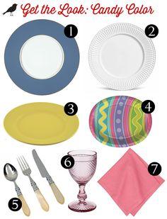 mesa candy color, get the look, mesa posta, mesa de páscoa, decoração de páscoa, easter decor, tablescape inspiration, table setting