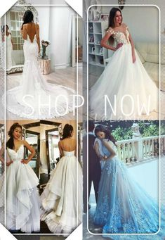 Wedding Dress Trends from Spring 2019 Bridal,Wedding dresses that fit your style and budget! Cheap White Wedding Dresses, Wedding Dresses Under 100, Wedding Dress Trends, Bridal Wedding Dresses, Bridal Looks, Dress Collection, Searching, Ball Gowns, Fabrics