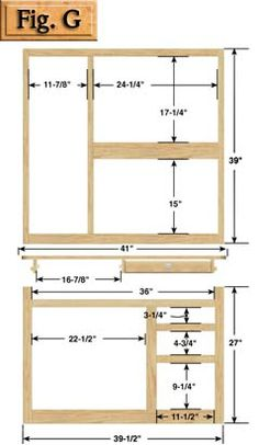 "Kitchen Cabinets Building Plans ana white | build a 36"" corner base easy reach kitchen cabinet"