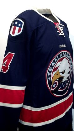 8a725a64798 Team America's newest run of jerseys! These are some of the sharpest  looking custom hockey