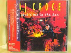 CD/Japan- A.J. CROCE That's Me In The Bar w/OBI RARE ORIGINAL 1995 BVCP-847 #SoftRockBluesRock