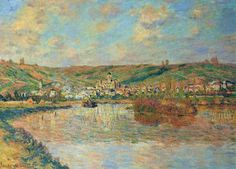 Late Afternoon in Vetheuil, 1880, Claude Monet