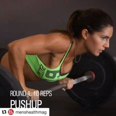 """4,196 Likes, 109 Comments - Alexia Clark (@alexia_clark) on Instagram: """"My Barbell circuit on @menshealthmag !! #Repost @menshealthmag with @repostapp ・・・ Try the BARBELL…"""""""