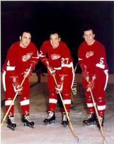 detroit red wings frank mahovlich | Bobby Baun, Frank Mahovlich & Carl Brewer with the Red Wings (1968-69)