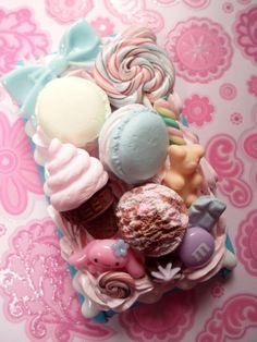 Image detail for -Cinnamaroll Pastel Ice Cream Party Kawaii Decoden Deco Case for iPod ...