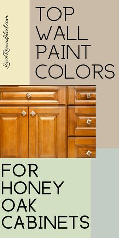 Wall Colors for Honey Oak Cabinets – Love Remodeled paint colors wit. Wall Colors for Honey Oak Cabinets – Love Remodeled paint colors with oak cabinets Wall Colors for Honey Oak Cabinets - Love Remodeled Best Wall Colors, Best Paint Colors, Wall Paint Colors, Paint Colors For Home, Interior Wall Colors, Home Paint, Interior Paint, Interior Design, Paint For Kitchen Walls