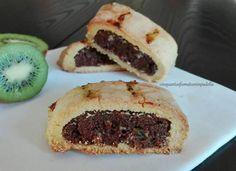 Biscotti da riciclo cacao e kiwi