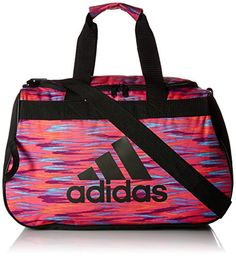 2037382874 adidas Diablo Small Duffle Bag  The Diablo small duffel has a top-loading  main compartment. The shoulder strap is adjustable and the webbing carry  handles ...
