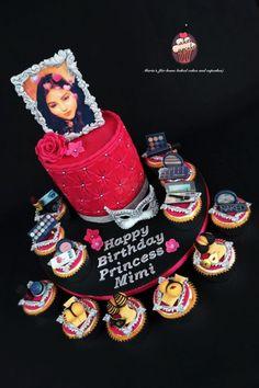 Gâteau d'anniversaire de mascarade
