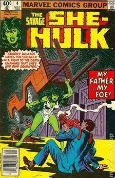 Savage She-Hulk (1980) 4 marvel comics