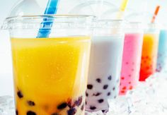 Which flavor do you like?  Don't forget to add the boba, it's chewy and delicious!