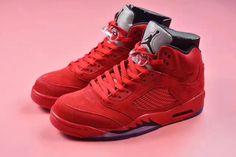 Air Jordan 5 Retro Red Suede 136027-602