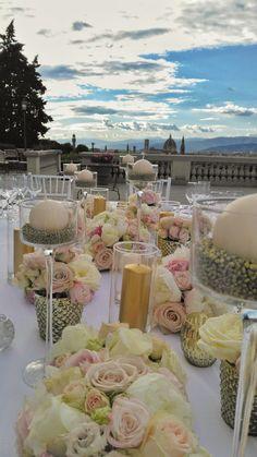 #gold pale #blush and ivory  #weddingintuscany #Florence #VillalaVedetta @VIOLAMALVA FLOWERS @Original Tuscan Wedding