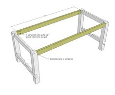 This photo about: Best Farmhouse Table Plans and Ideas, entitled as Free Farmhouse Table Plans - also describes and labeled as: Diy Farmhouse Table,Farmhouse Dining Room Table Plans,Farmhouse Dining Table Plans, with resolution x Farmhouse Table With Bench, Diy Dining Table, White Farmhouse, Farmhouse Desk, Outdoor Dining, Table Palette, Diy Furniture Plans, Modern Furniture, How To Plan