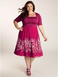 Jocelyn Plus Size Dress by IGIGI by Yuliya Raquel Designer Plus Size Clothing in sizes 12-32