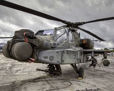 AH-64 Apache - that was my girl she looks old around the mast