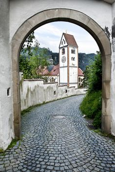 Fuessen, the town next to castle Neuschwanstein. It's a beauty all by itself.
