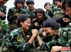 Female Soldiers - People's Armed Police (CPAP), ~ Chinese Military Review