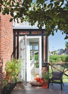 Sticks Knagerække 50 x 18 x cm Hygge, Outdoor Spaces, Outdoor Living, By Lassen, Grand Entrance, Doorway, Outdoor Furniture, Outdoor Decor, Louisiana