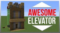 Minecraft 1.10: Redstone Tutorial - Elevator!