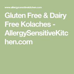 Gluten Free & Dairy Free Kolaches - AllergySensitiveKitchen.com