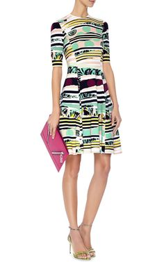 Printed Cotton-Knit Dress by Kenzo - Moda Operandi